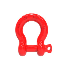 Screw Pin Alloy Bow Shackle/G8 Bow Shackle