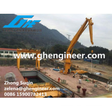 floating crane transshippers crane