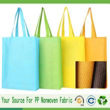 Tela no tejida Spunbond para bolso de compras