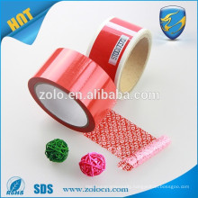 cheap tape , anti tamper tape whole in Shenzhen ZOLO