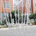 Latest Design Romantic Acrylic Crystal Beaded Shower Curtain