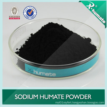 Super Sodium Humate From Leonardite Shiny Flake