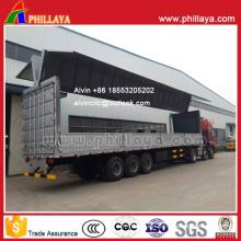 Aluminum Alloy Cargo-Box Wingspan Van Semi Trailer
