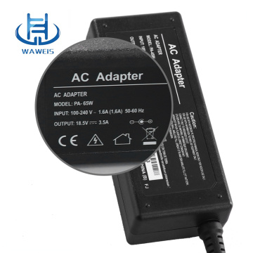 Laptop charger 65w 18.5v 3.5A for HP Notebook