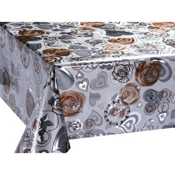 Golden Emboss Printing Tablecloth por el rodillo
