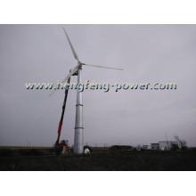 Haute capacité DC à AC sur grille lié trois Phase 500kw éolienne
