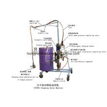 Machine de pulvérisation automatique hachée