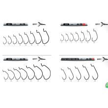 Good Design Single Hook, Soft Worm Lure Hook Fishing Hook Stainless Steel Hook
