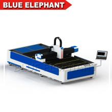 1530 1-12мм алюминиевая и стальная пластина с ЧПУ волокна лазерной резки машина с высокое качество
