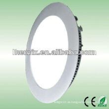 10w Decke LED Licht Panel Runde