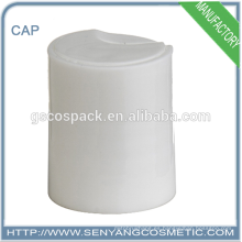 Color blanco 24/415 cap tapa tapa tapa del disco tapa de rosca plástica para la botella