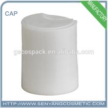 Cor branca 24/415 tampa superior abotoa o tampão superior do disco tampa de rosca plástica para a garrafa