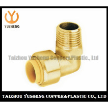 Male Brass Lead Free Quick-Connect Elbow Fittings (YS3005)