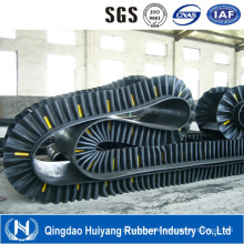 Big Angle Corrugated Sidewall Conveyor Belt Ep Rubber Belt