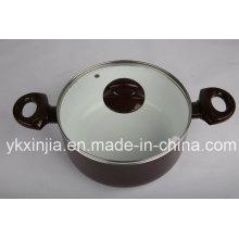 Kitchenware Aluminum Ceramic Sauce Pot for European Market