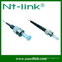 Cable de conexión óptico estándar de fibra de st-st