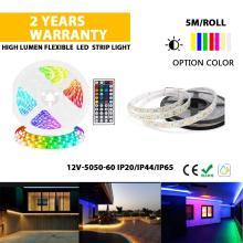 High quality 5050 RGB changing color strip light