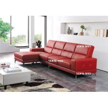 Досуг Италия Кожаный диван Современная мебель (430)