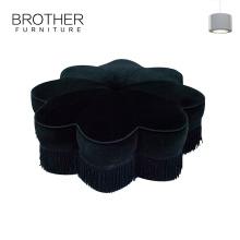 Tabouret de pouf moderne pouf pouf en tissu intérieur / extérieur