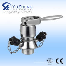 Stainless Steel Sampling Valve with Welded End