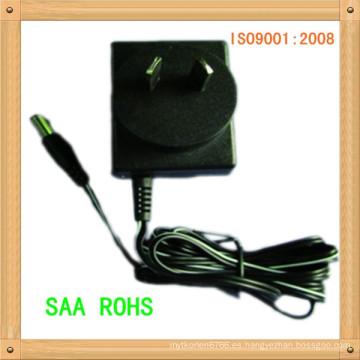 adaptador 12 V, enchufe 1100 mA AU Anti-interferencia