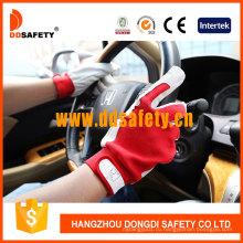 Хлопчатобумажная ткань для свиной кожи для рабочих рабочих перчаток DLP411
