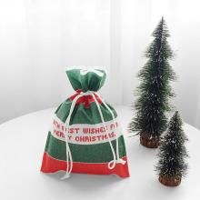 Presente Verde Da Festa De Natal Bolsas