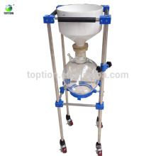 TOPTION Borosilicate Glass nutsche Vacuum Nutsch filter/Filtration equipment laboratory