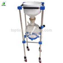 TOPTION Боросиликатного стекла фильтр вакуума Nutsch фильтр/фильтрации лабораторного оборудования