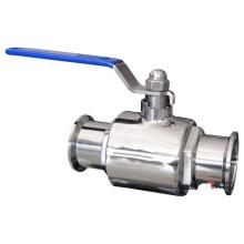 Válvula de bola de la abrazadera sanitaria de la categoría alimenticia pn10