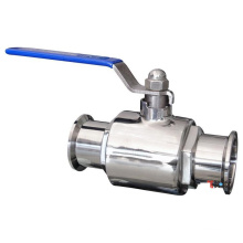 Sanitary food grade clamp ball valve pn10