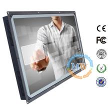 """1920X1080 resolución 32 """"monitor de pantalla táctil marco abierto con USB"""