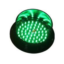 módulo de tráfego LED vermelho 125mm mini semáforo
