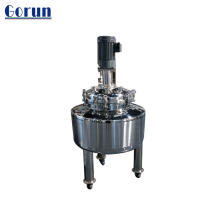 Stainless Steel Mixing Tank For Cosmetic, Diet And Shower Gel