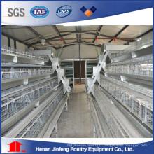 une cage de poulet d'équipement de volaille de type pour le poulailler de couche