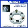 3X106mm Car Hub Centric Steering Wheel Spacer Adapter
