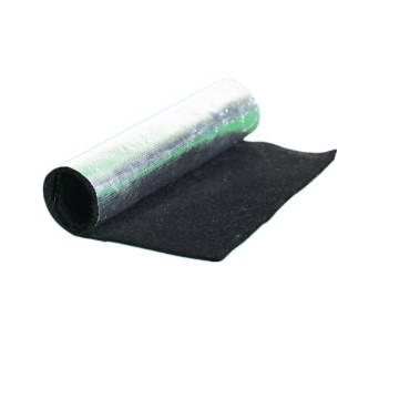 Fire proof carbon fiber felt with aluminum foil membrane