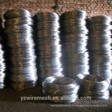 BWG 18 Fabrication en Chine de fil de fer galvanisé / fil galvanisé par tonne