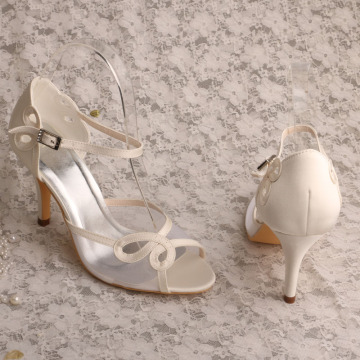 Ivory+Wedding+Shoes+Pumps+High+Heels+Sandals
