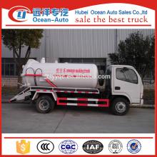 Mini camión de vacío de aguas residuales de Dongfeng para la venta