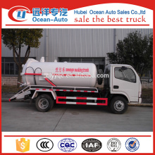 Mini Dongfeng Waste Water Vacuum Truck for Sale