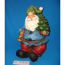 Árvore de Natal com Papai Noel e Presentes para Decoração de Natal
