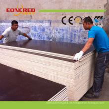 Precio de la madera contrachapada / de la madera contrachapada del encofrado de 18m m para la construcción