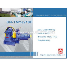 Bottom price hot sale elevator geared traction machine