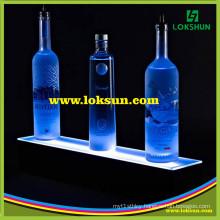 LED Acrylic Wine Bottle Glorifier, Bottle Glorifier Display