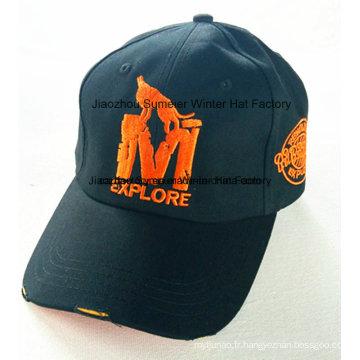 Casquette européenne de baseball de casquette de sport