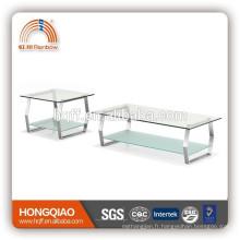 CT-03ET-03 set de table basse en verre