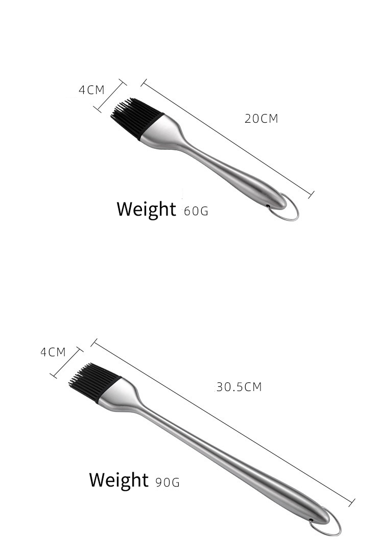Stainless Steel Silicone Brush