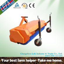 Small Tractor Hitch Nylon Brush Turf Sweeper
