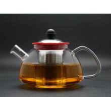 Hand Made Glassware / Kitchenware Glass Tea Pot, Pyrex Glass Tea Pot with Filter